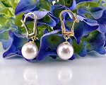 Pearl Earrings<br>Classic<br>8.0 - 8.5 mm