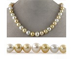 Multi Colour Pearl Necklace at Selectraders